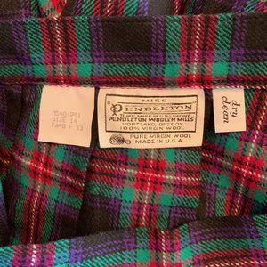 Pendleton Skirts - NWT Vintage Miss Pendleton Wool Plaid Skirt, Small